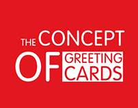 Concept of greeting cards