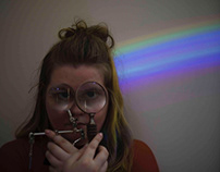A study of rainbows and magnification