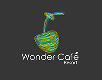 Wonder Cafe Resort Logo