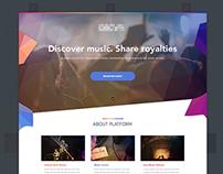 Music Interface UX/UI