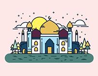 Hari Raya Aidilfitri — Illustrations