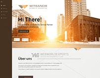 Witsands - Custom Web Design