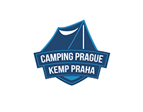 Camping Prague logo design