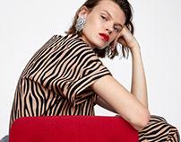 Zebra print - ZARA WOMAN