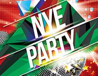 FREE PSD - NYE & XMAS Party