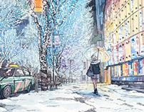 """Metro Guide"" December cover"
