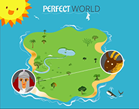 Perfect World Presentation Graphics Example