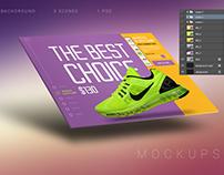 PSD Web Presentation Mock-Up Set