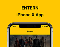 Entern : iPhone X App