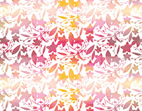 Criação de Estampa - Flores