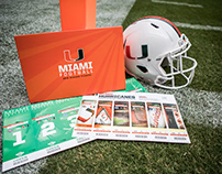 2018 Miami Hurricanes Football Season Ticket Package
