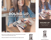 Tower Community Bank: Round Up Campaign