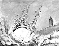 Ilustraciones para Tesouros de Galicia