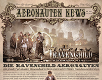 Advertising Newspaper Steampunk (Nr. 2)