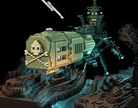 Albator's Arcadia fanart