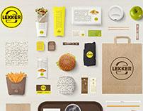 Logotype And Pattern/ Lekker/ Full Branding
