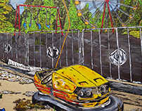 Chernobyl -homenaje- Ilustración análoga