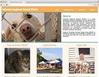 Helmetta Animal Shelter Mockup