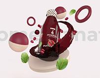 Malibu Juice Branding