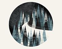 Winter Trees | Illustration