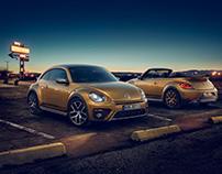 Volkswagen Beetle Dune CGI