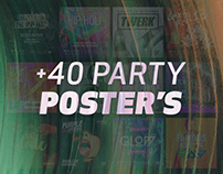 +40 Party Poster's