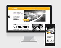 Lufthansa Industry Solutions Website