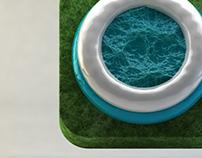 3D concept icon ios