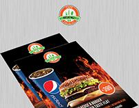 Cafe Reload - Brochure and Menu Design