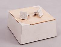 ConCuff  - concrete cufflinks