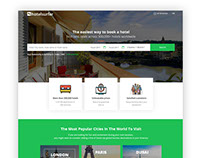 Online Hotel Booking Web Layout