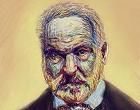 Victor Hugo Digital Painting