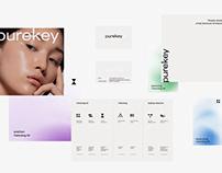 Purekey Skin care Brand design