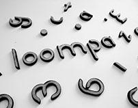 Loompa | Modular free typeface