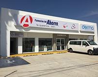 Farmacia del Ahorro branch in Morelia, Michoacán