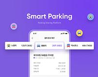 Smart Parking - parking sharing app