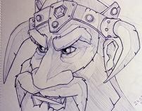 Vikings Sketch #2