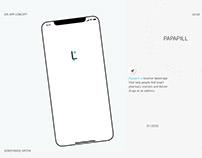 @Papapill - Smart Pharmacy. Mobile App Concept. UX/UI