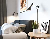 Bedroom Visualization in Norway