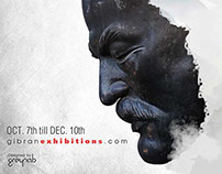 Gibran Art Exhibition // website - Social Media //
