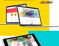 Website - Escola Crystal | Berçário e Educação Infantil