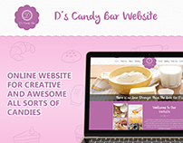 D's Candy Bar Project