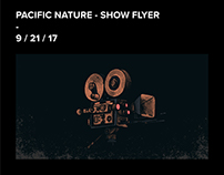Pacific Nature - Show Flyer