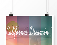 Poster California Dreamin'