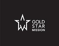 Gold Star Mission logo