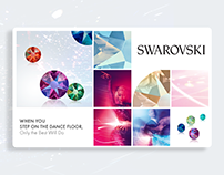 Swarovski visual and web design