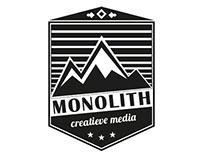 Logo ontwerp Monolith creatieve media