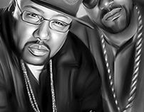 UGK Digital Oil Painting by Wayne Flint