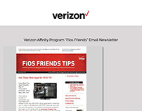 Verizon Email and Web Design