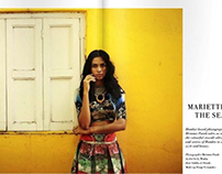 Mariette And The Sea-Zardozi Magazine June 2015
